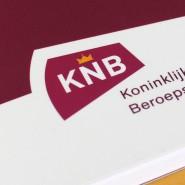 KNB corporate identity, logo en huisstijl