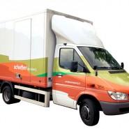 Schefferdrukkerij: vrachtwagen