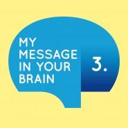 Concept, identiteit, logo en huisstijl voor My Message in Your Brain